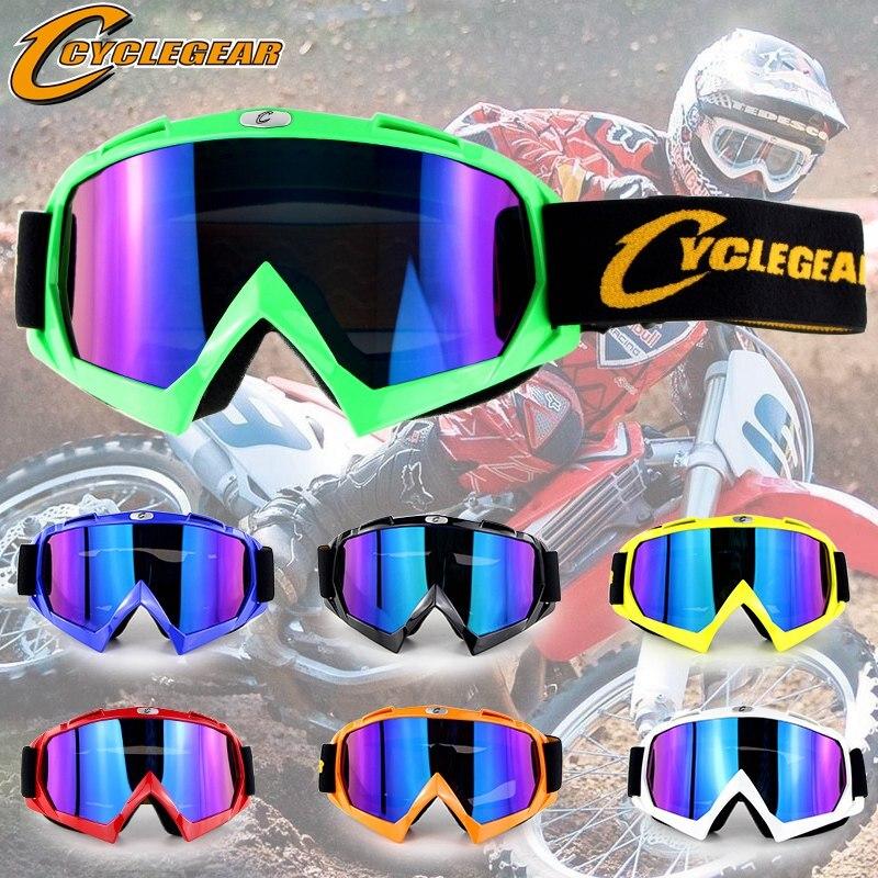 Gafas de 100% de carreras de motos Moto MX Gafas de Motocross campo de Cruz todo terreno ATV Gafas de sol de motocicleta lunettes brillen