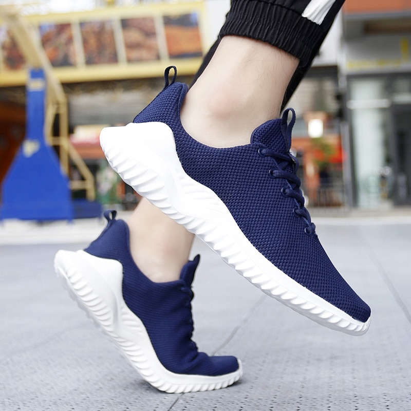 Men Sneakers Big Size Mesh Breathable Comfortable Tenis High Quality New Fashion 2021 Men'S Casual S