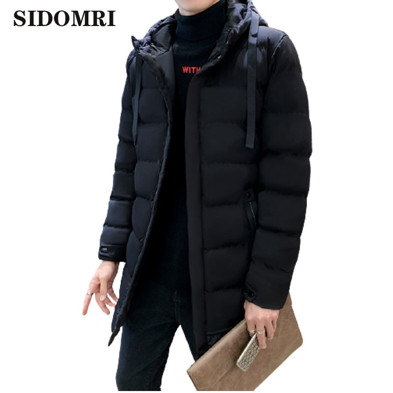 Мужская куртка, Повседневная парка, ветрозащитная плотная Теплая мужская одежда, брендовая мужская зимняя верхняя одежда, мужская одежда с ...