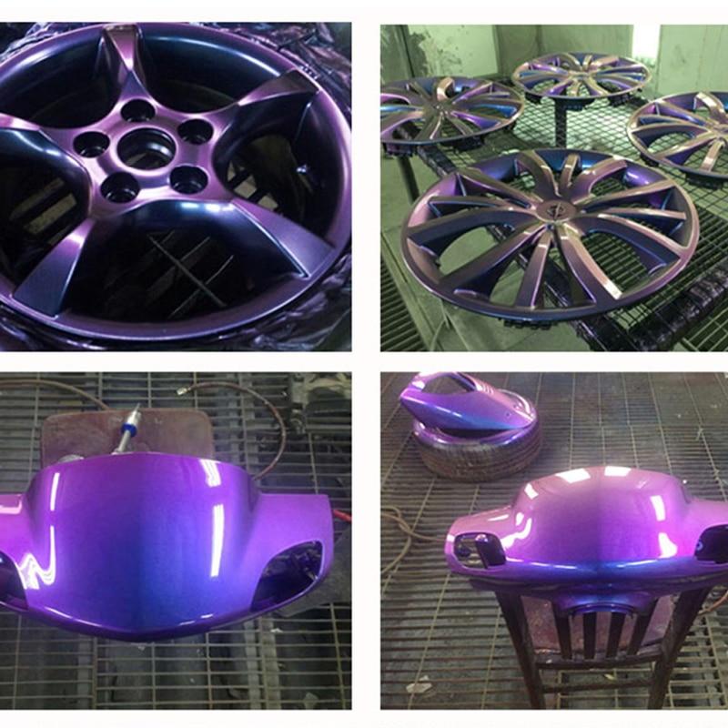 50g YB83 Chameleon Pigment Rainbow Powder for Automotive Crafts  Decoration Nail Art Glitters Kit Manicure Chameleon Powder enlarge