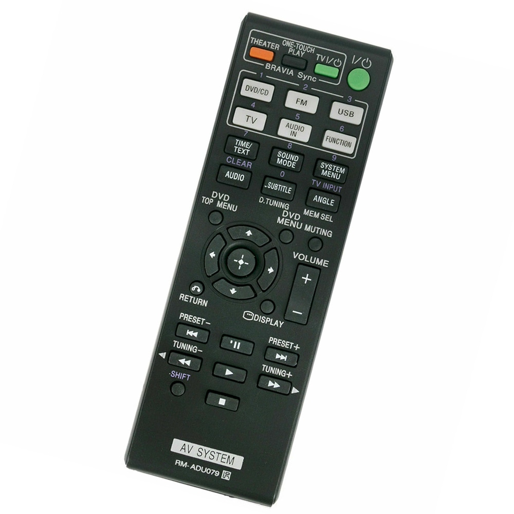 New Replaced Remote Control For SONY Home Theater System HBD-TZ510 HBD-TZ630 HBD-TZ710 HBD-TZ210 HBD-TZ215