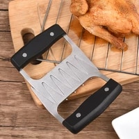 metal meat claws divider stainless steel meat forks bear claw meats separator bbq grill tools kitchen gadget