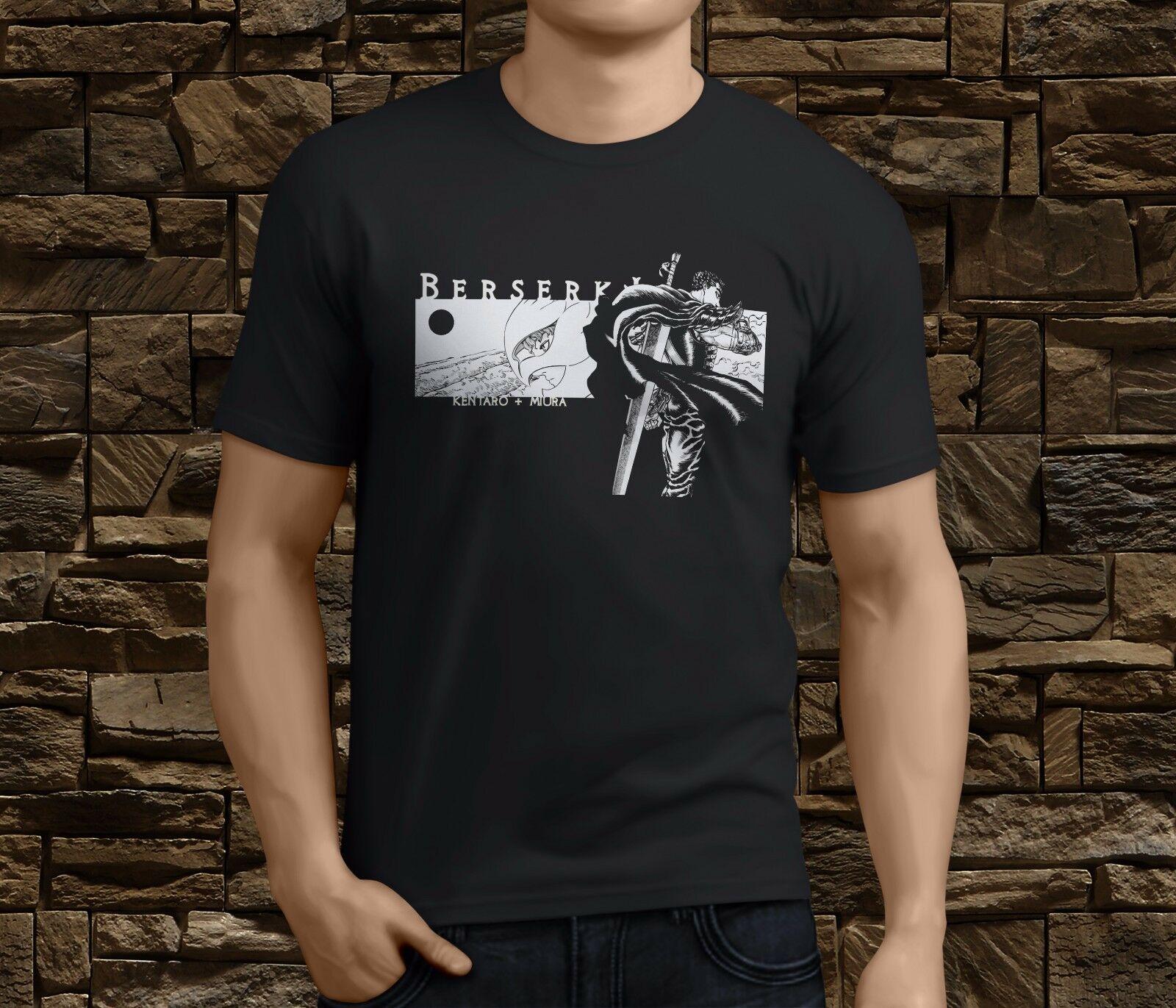 ¡Novedad! Camiseta para hombre de Manga de Anime Berserk Guts Gattsu Griffith, talla S, 3Xl