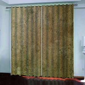 Home Decor 3D Curtains Window European Style Curtains For Living Room Luxury Bedroom Window Curtains Home Decor