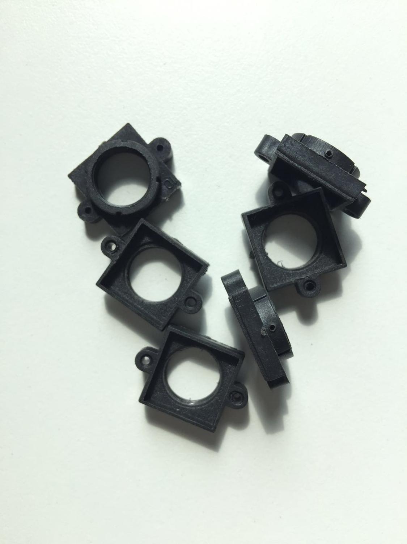 Soporte de lentes de computador de una sola placa soporte de lente de plástico soporte de cámara CMOS soporte de lente CCD distancia de agujero fijo 20