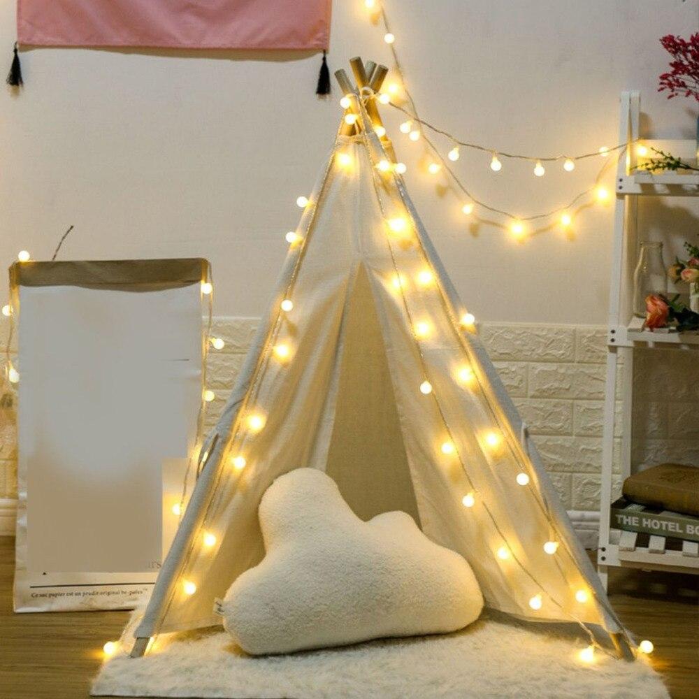 Guirnalda de luces Led con copos de nieve para árbol de Navidad, luces de Navidad para exteriores, luces tipo Hada a prueba de agua, guirnalda de luces para fiesta y decoración del hogar