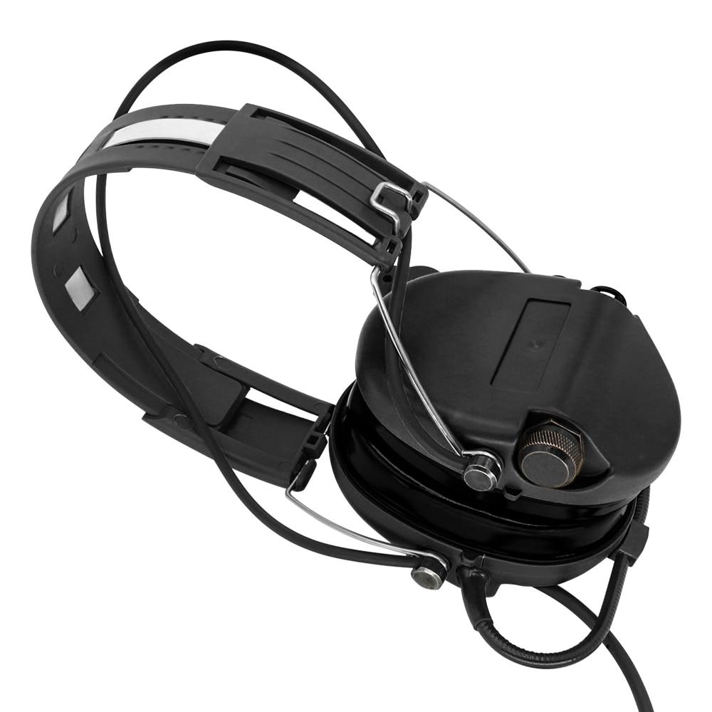 Tactical electronic SORDIN hearing defense noise reduction pickup air gun military tactical shooting headset BK enlarge