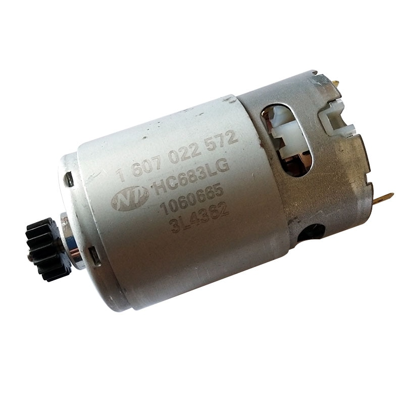 GSB14.4-2-LI 14.4V 16 TEETH GEAR DC MOTOR 1607022572 HC683LG FOR Electric screwdriver drill  Repair and replace parts