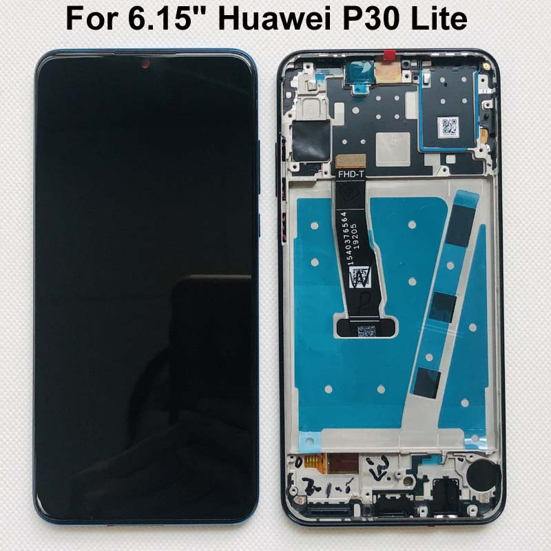 """Original nuevo para 6,15 """"Huawei P30 Lite MAR-LX1M MAR-LX2J pantalla LCD + Digitalizador de Panel táctil para huawei nova 4E MAR-LX1 LX2"""