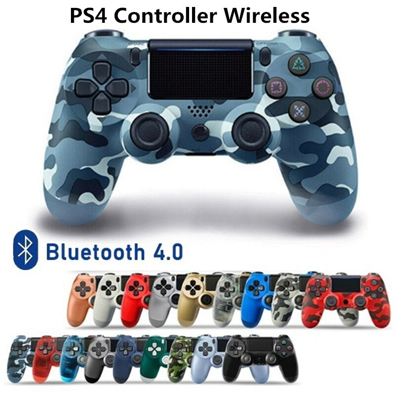 Mando inalámbrico para Playstation 4, mando DualShock 4 con Bluetooth, llamada de...