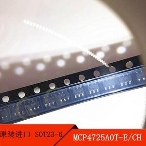 5PCS  MCP4725A0T-E/CH SOT23-6 screen printing AJ * * d/a conversion chip original products