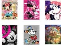 Peinture en diamant theme dessin anime DISNEY Mickey  broderie en strass  point de croix  decoration dinterieur  cadeau de noel