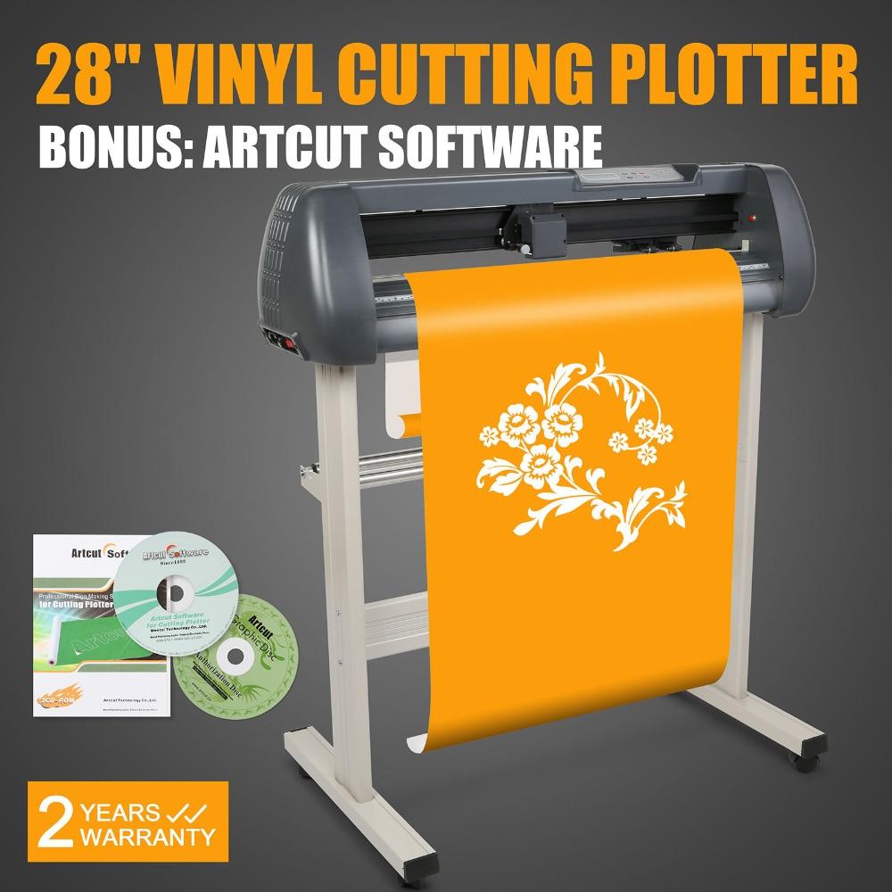 28 дюймовый виниловый режущий плоттер с программным обеспечением Artcut для