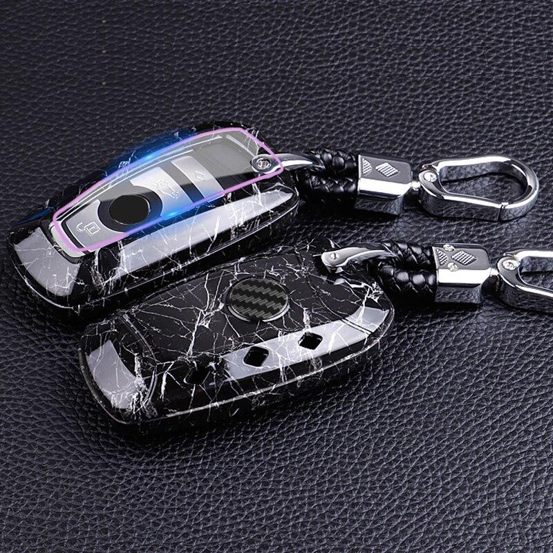 PC + ABS control remoto de coche funda carcasa para BMW 520 525 f30 f10 F18 118i 320i 1 3 4 5 5 5 6 6 7 Serie E87 E90 E91 E92 X1 X3 X5