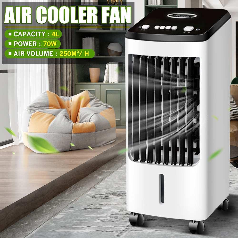 70 واط المنزل مكيف هواء صغير مبرد الهواء المحمول الفضاء الشخصي مبرد مياه مروحة تبريد الهواء مروحة للصيف مروحة قابلة لإعادة الشحن