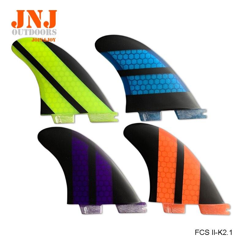 FCS2 Fins K2.1 Fibreglass Fins Hot Sale Surfboard FCSII Fins FCS 2 surfing fin