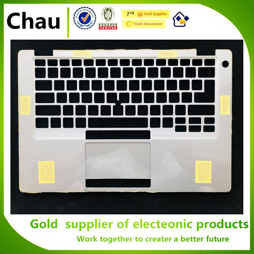 Chau جديد لديل Latitude 5410 E5410 حافظة علوية Palmrest غطاء فضي A19994 A19995 A19996 A19997 A19998