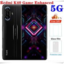 Original Global Version Redmi K40 Game Enhanced NFC 8GB+256GB Smartphone Dimensity 1200 6.67