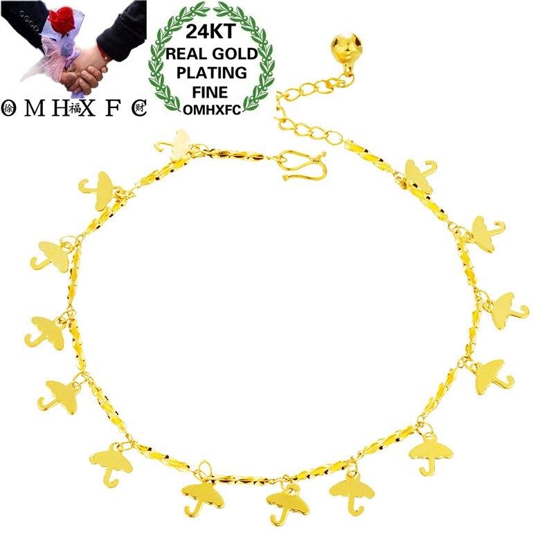 OMHXFC JB07 Jewelry Wholesale European Fashion Fine Hot Woman Girl Party Birthday Wedding Gift Flowe