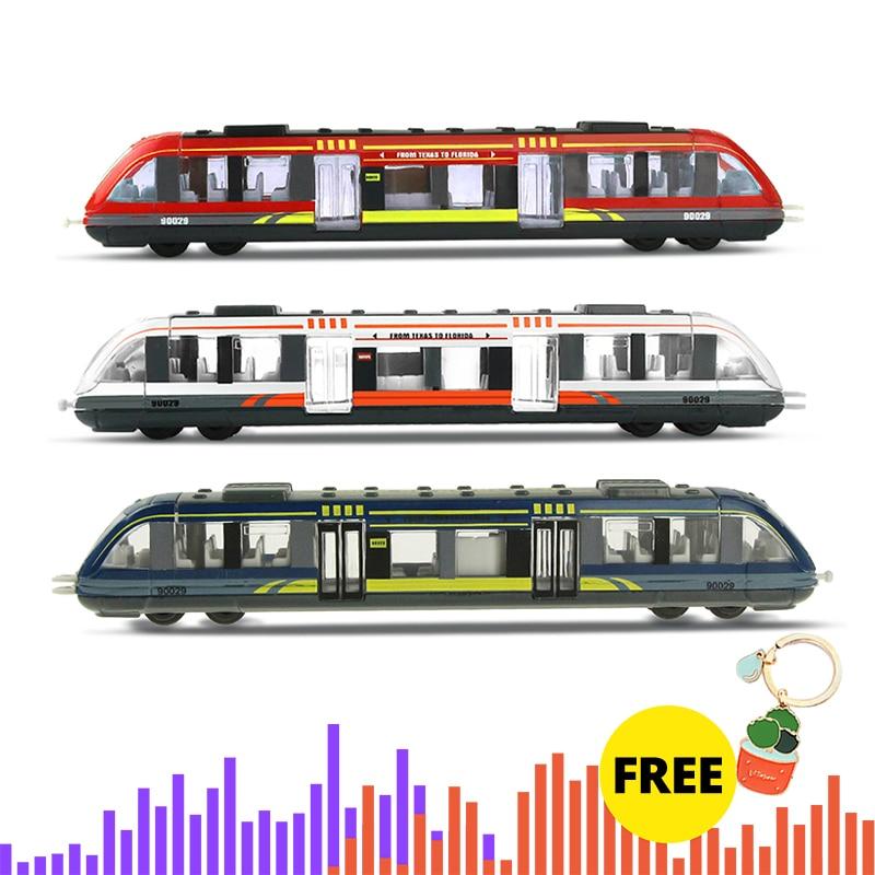 Tren de aleación de simulación de Metal de alta velocidad tren fundido juguete modelo juguetes educativos niños colección para niños regalo #