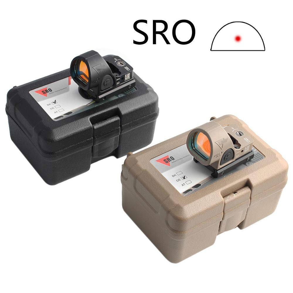 Тактический Мини RMR SRO Red Dot прицел коллиматор Глок винтовка рефлекторный прицел подходит 20 мм рейка и Глок крепление