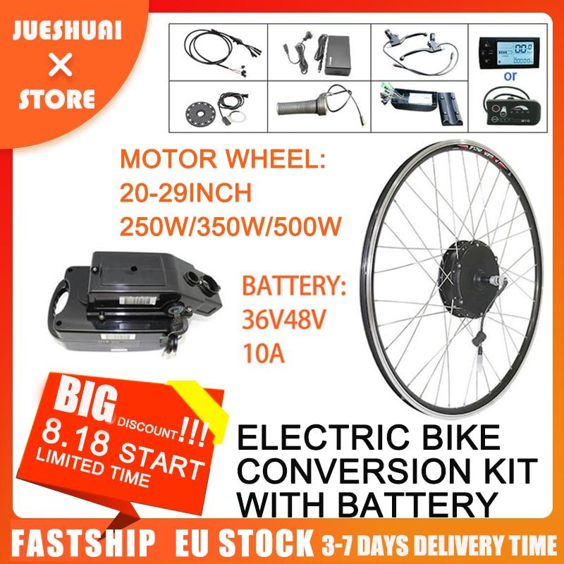 Free VAT Electric Bike Kit Conversion Kits 50km/h 250W 350W 500W Electric Bicycle Accessory Electric Bike DIY byself Motor Wheel
