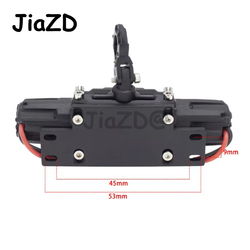 Metal Automatic Winch Wireless Remote Controller System for 1:10 RC Crawler Car Axial SCX10 90046 Traxxas TRX4 Redcat enlarge
