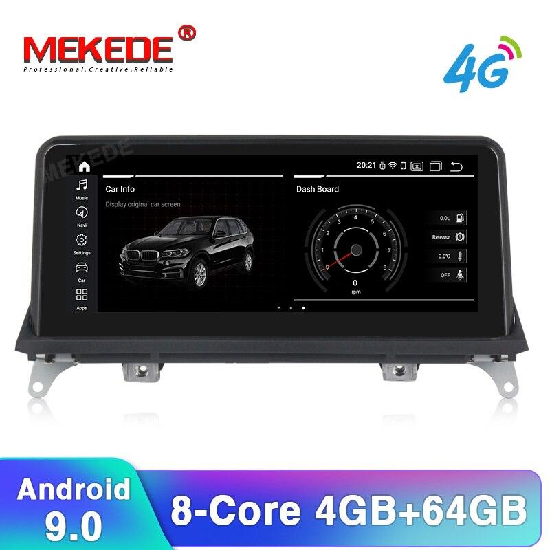 Reproductor de dvd para coche Android 10 para BMW X5 E70/X6 E71 (2007-2013) CCC/CIC sistema autorradio gps navegación multimedia unidad principal PC