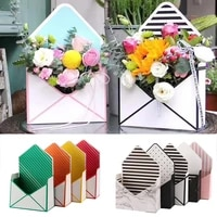 flower packaging carton box envelope flower boxes flower carrier bag creative hand holds folding bouquets bag wedding gift boxes