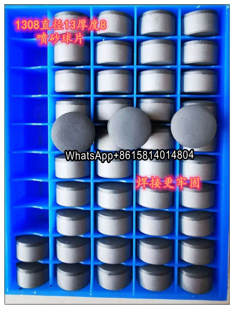 Bocado de Perfuração Exploração de Óleo Pces Diamante Composto Peça – Poço Super Hard Pdc Lâmina 1308 1608 1613 Óleo Geológico 10