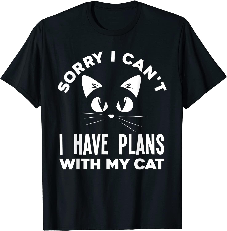Извините, я не могу заказать забавную подарочную футболку с котом