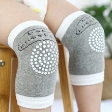 Anti-slip Baby Knee Pad Kids Safety Crawling Elbow Cushion Infant Toddlers Baby Leg Warmer Knee Supp