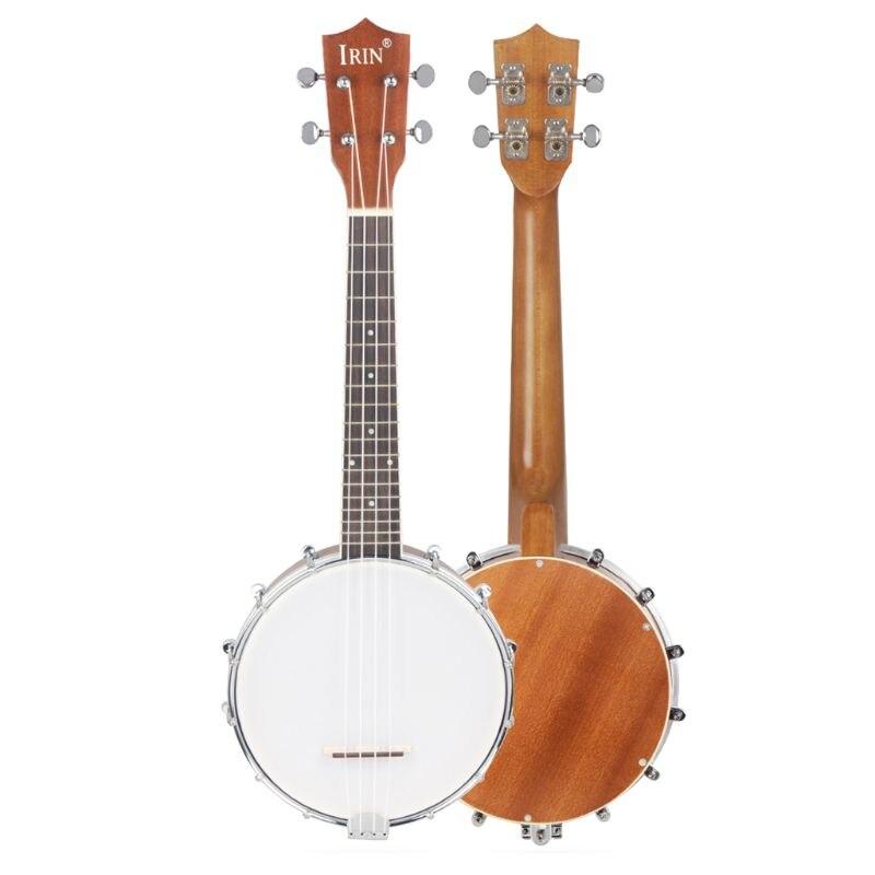 IRIN Nylon 4 cuerdas concierto Banjo Uke ukelele bajo Guitarra para instrumentos musicales de cuerda amante regalo madera de caoba
