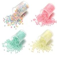 1800pcs 2mm sweets dream color czech glass seed beads cute bulk small bead bracelet handicraft for diy jewelry making supplies