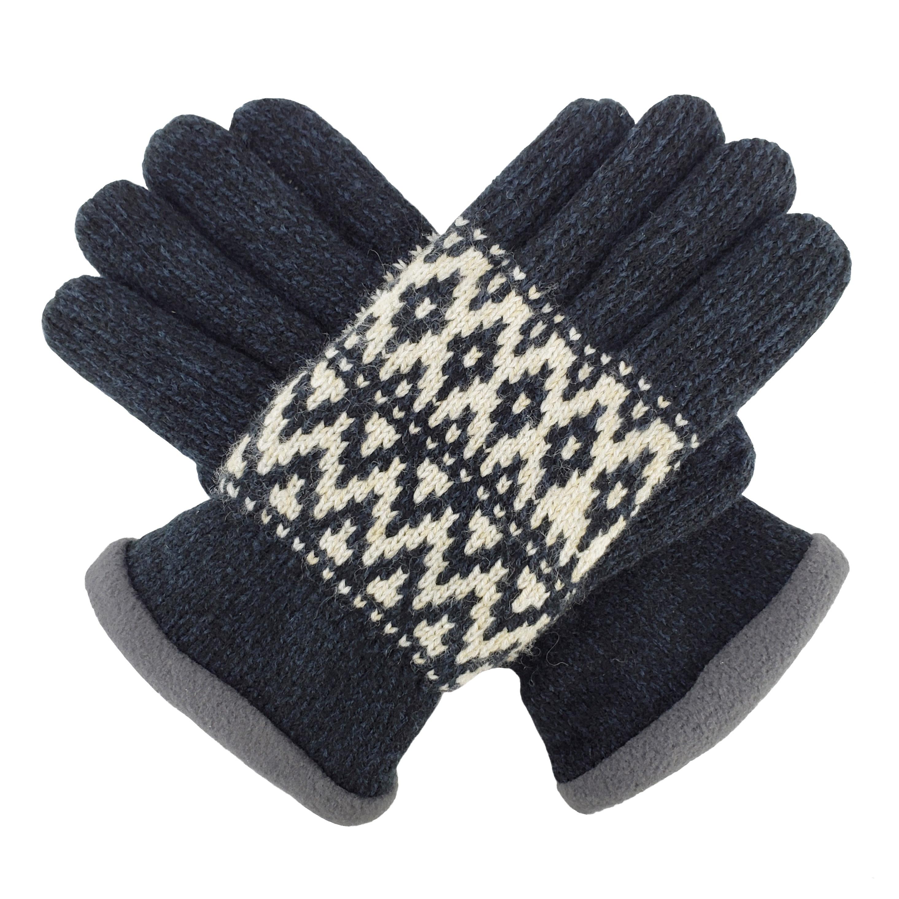 Bruceriver guantes de invierno tejidos para mujer con forro polar de thinsular cálido