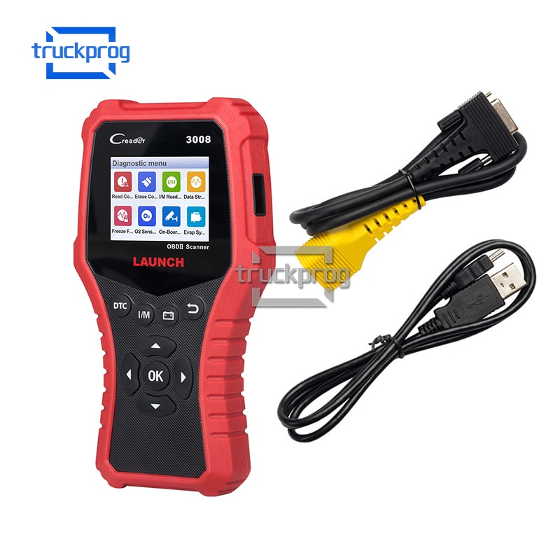 Launch OBD2 Code Reader CR3008 Car Diagnostic Scanner 3008 Read DTC Battery Test Auto Scan tool online free update