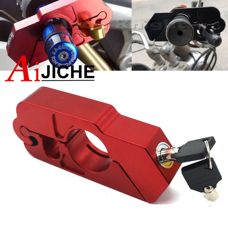 High quality CNC Motorcycle Handlebar Lock Brake Clutch Security Safety Theft Protection For Ducati Monster 1200 Monster 1100