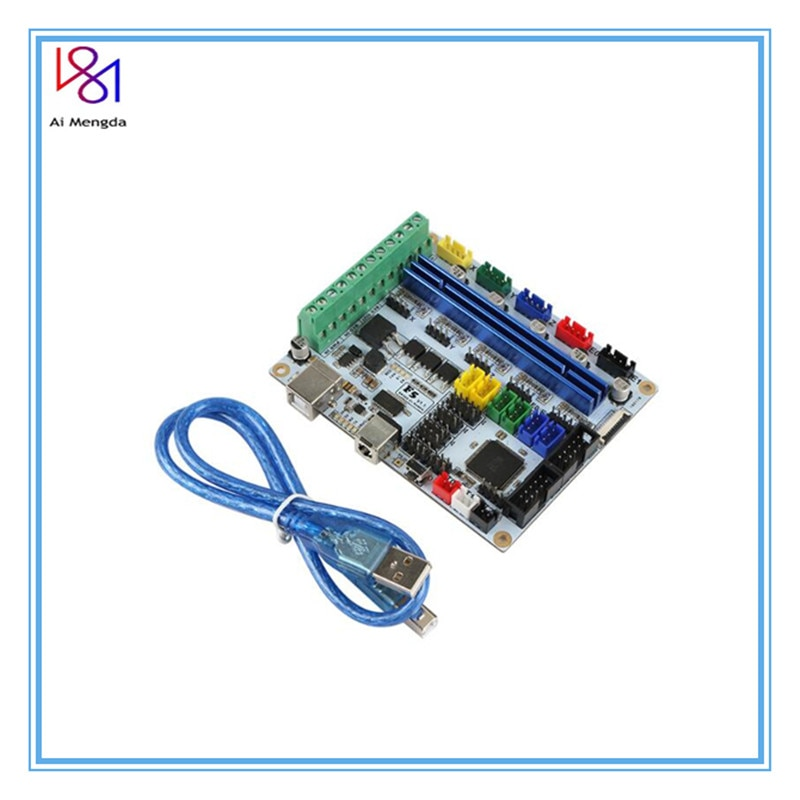Placa madre de la impresora 3D F5 V1.2 Placa de control compatible con Ramps1.4 puede reemplazar la placa BASE MKS