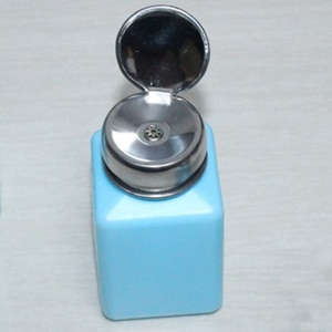 200ml Portable Nail Art Empty Pump Dispenser For Nail Art Polish Liquid Bottle Tool Travel Liquid Bottle