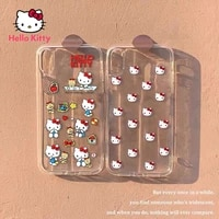 hello kitty for iphone78pxxrxsxsmax1112pro12mini cute transparent shatter resistant phone case