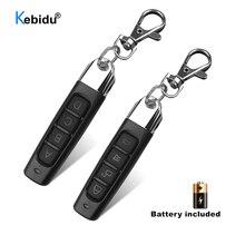 KEBIDU 433MHZ télécommande porte de Garage ouvre-porte télécommande duplicateur Clone clonage Code clé de voiture