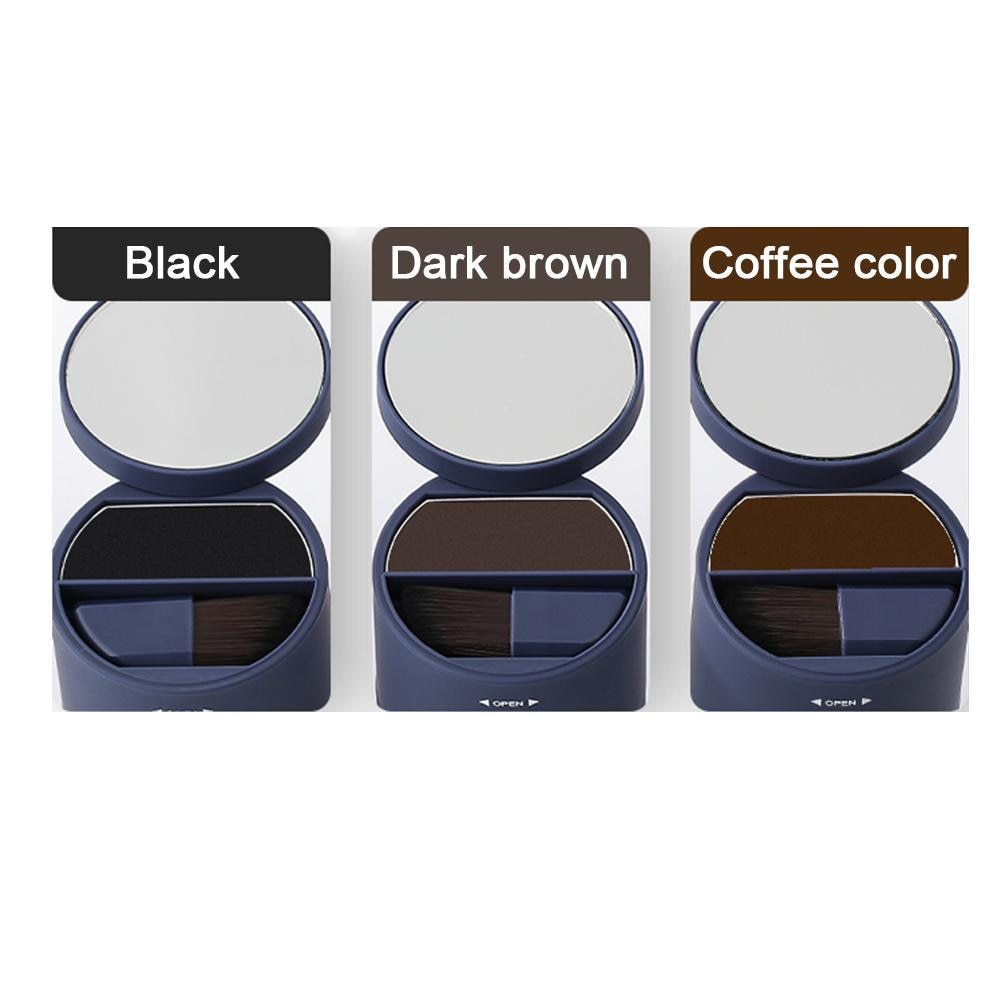 Waterproof Long Lasting Hairline Shadow Powder Hair Shader Retouching Roots and Hair Perfect Coverage for Hair