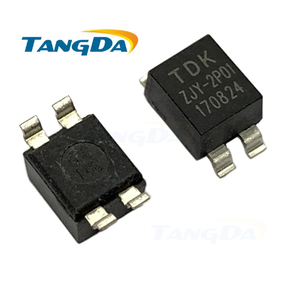 Tangda CM de filtro de modo común ZJYS51R5-2P T -01 2A eliminación del ruido de inductores SMD ZJYS-2 ZJYS51 ZJY-2P01 ZJY2P01 L