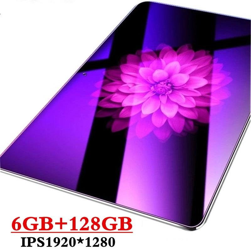 2020 nuevo Google Android 8,0 OS 10,1 pulgadas tablet Octa Core 6GB de RAM 128GB ROM 2.5D de tabletas WIFI tarjeta SIM Dual 3G 4GLTE