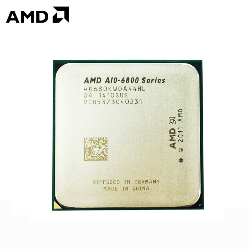 AMD A10-Series A10-6800K A10 6800K A10 6800 4.1GHz رباعية النواة معالج وحدة المعالجة المركزية AD680KWOA44HL/ AD680BWOA44HL المقبس FM2