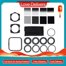 Andoer Universal Neutrale Dichtheid ND2 4 8 16 Filter Kits Voor Cokin P Set Slr Dslr Camera Lens Camera Foto accessoires