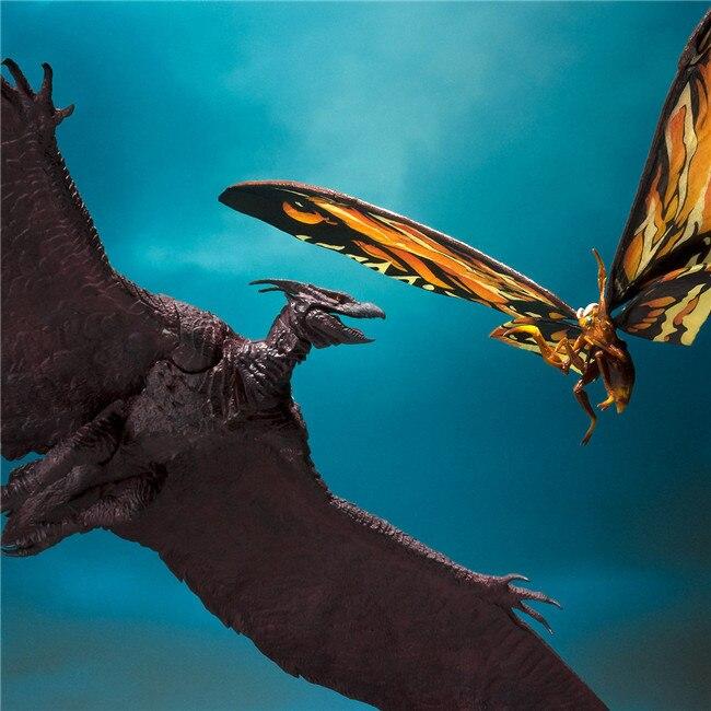 18 см Godzilla: король монстров Mothra и римские фигурки, высокое качество, модель Pteranodon, ПВХ фигурки, коллекционные игрушки