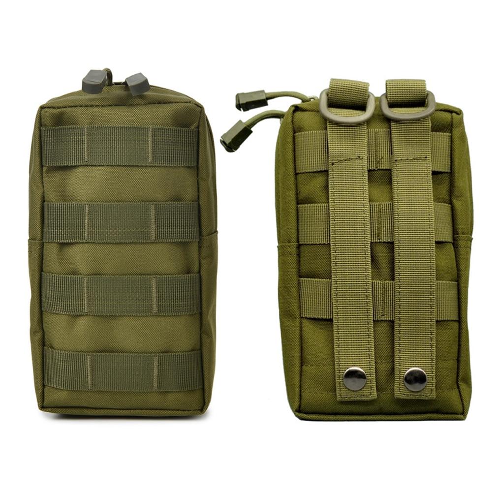 Мужская тактическая поясная сумка, нейлоновый поясной кошелек, боевой жилет, маленький аксессуар, сумка для охоты, кемпинга, уличный компле...