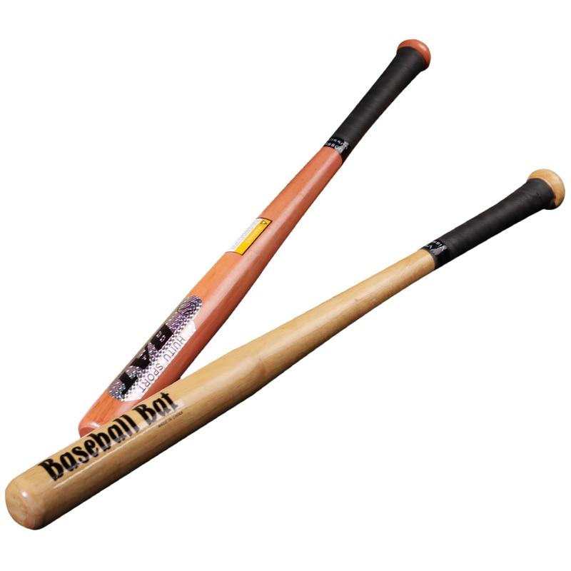 25 Inch Wooden Baseball Bat  Practice Exercise Baseball Equipment Self Defense Weapons Bate De Beisbol Team Sports EH50BS