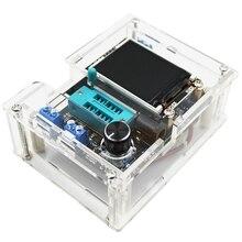 Mega328 كامل تجميعها الترانزستور تستر LCR ديود السعة ESR متر PWM مربع موجة تردد إشارة مولد
